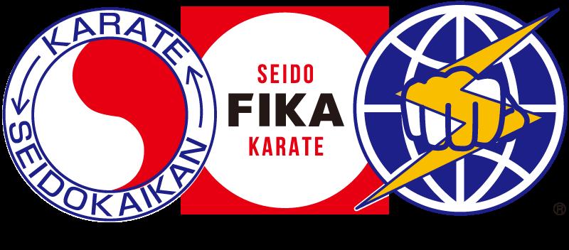 新日本空手道連盟 正道会館 国際正道 空手連盟 FIKA PCロゴ画像